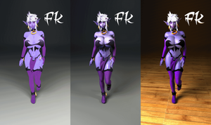 Syx Manaworld - FK (3D,Animed vs Real) Updated by F-Kn