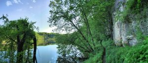 Backbone State Park Panorama by Anachronist84