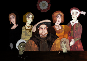 The Six Wives of Henry VIII by swacit