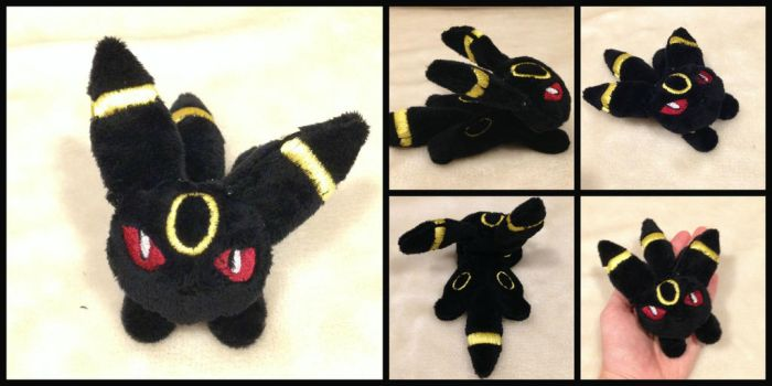 Umbreon Micro Plush Pokemon by PlushatiersINC
