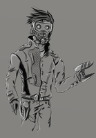 Star Lord by McKravendrawings