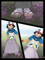 Ash into purple girl page 2 by TheDarkShadow1990