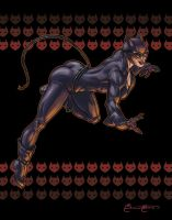 Catwoman Print by BrianAtkins