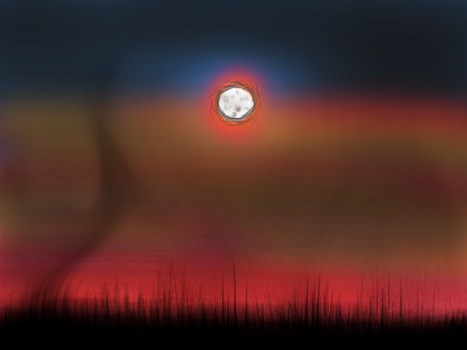 Dark Sunset - Playing With Hues by DanBakerDesign