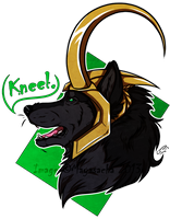 .:Loki-Kneel:. by Mayasacha