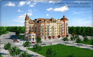 Condo Building Project by zoomzoom