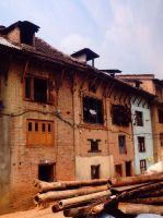 Traditional houses by ManishaS