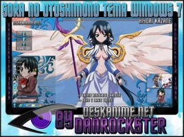 Hiyori Kazane Theme Windows 7 by Danrockster