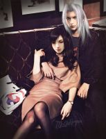 Tifaroth (Tifa x Sephiroth) for LuminousInfinite by TD-Yukiryuu
