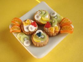 Fruit Tarlets by PetitPlat