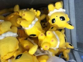 The Wrath of The Jolteon Plushes! by Kevfin