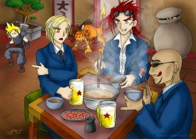 The Turks at Shabu-Shabu by Merinid-DE