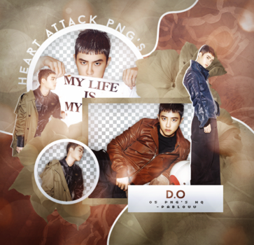 D.O   Pack Png. by Heart-Attack-Png