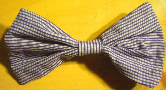Fabric Bow barrette by 1Kamichama