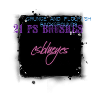 Grunge and Flourish Background by csblueyes