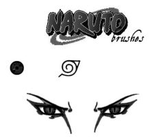 Naruto Brushes by Erenthae