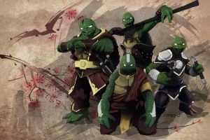 TMNT X Avatar by xericho