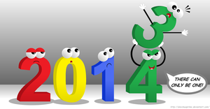 Happy New Year 2014!! by AleximusPrime