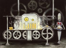 Tim Burton's Toaster by KaitlinTraver
