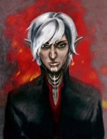 Fenris The Broody by RisingMonster