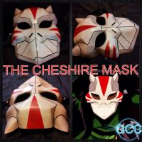 The GCC Cheshire Mask by Cadmus130