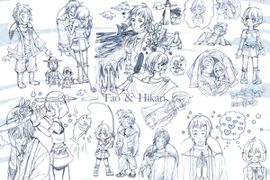 HM:a lot of Tao and Hikari by MATSUOBORO