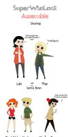 SuperWhoLock Assemble! by Princess-Cunt