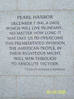 Pearl Harbor memorial by Woofie267