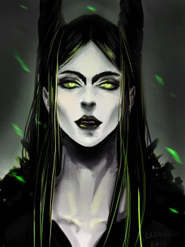 Maleficent by lllannah
