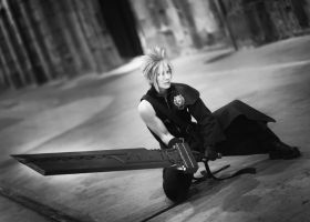 Cloud Strife of FFVII ACC by EduardLuzhetskiy