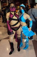 NYCC '11: Mortal Kombat Girls by PanicPagoda