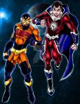 Ultimate Power And Astro Man By Captain86-d8etyzx by TheGargarean