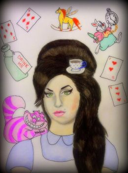 Amy in Wonderland by mellany23