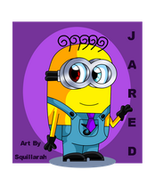 Despicable Me OC- Jared Son Of Charles and Eddie by Squillarah