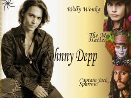 Johnny Depp by russetwolf1