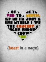 Heart in a Cage by turquoisy