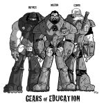 Gears of Education by Vanjamrgan