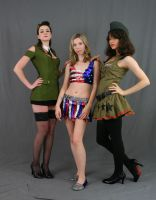 All American Girls by MajesticStock