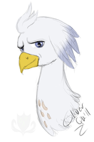 Silver Quill by StagetechyArt