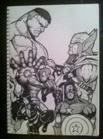 The Avengers. by Wedge40