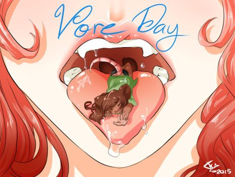 Vore Day by FreewolfD