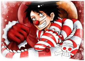 Monkey D. Luffy. One piece by HosomiAme