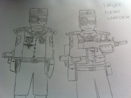 Target, The Eternal Emperor (Formal Uniform) by Target21