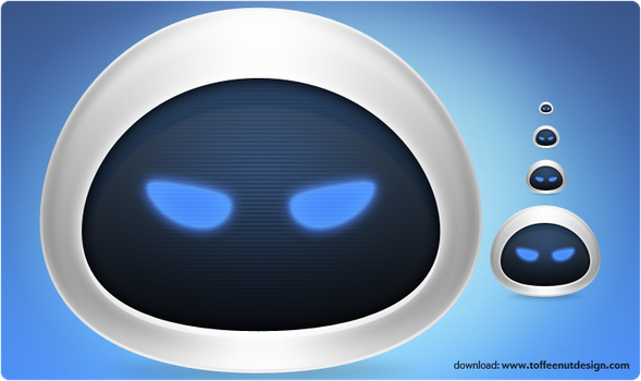 Wall-e's Eve Icon by ToffeeNut