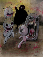 Binding of Isaac Artwork - Remaster by GrimGary
