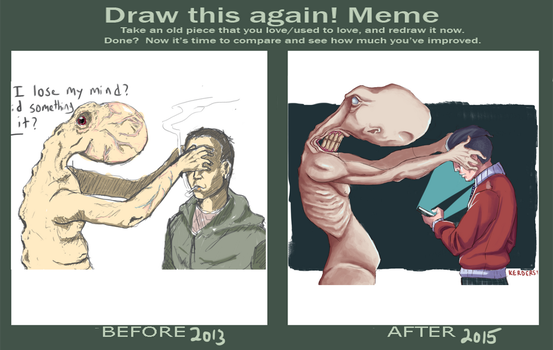 Draw This Again - 2013 - 2015 by Kerdersty