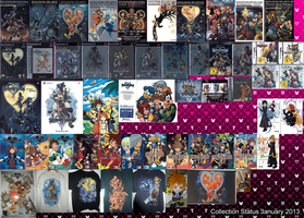 Kingdom Hearts Collection 2013 by Marduk-Kurios