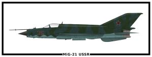 MiG-21 USSR by PsykoHilly