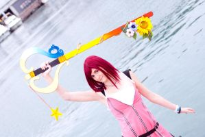 Kairi Fight by Aniki-Fair