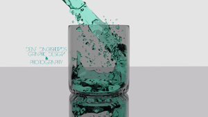 Water in a Glass by DeafDachshunds